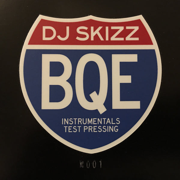 DJ Skizz - BQE: The Brooklyn-Queen Experience Instrumentals - LP (Test Press)