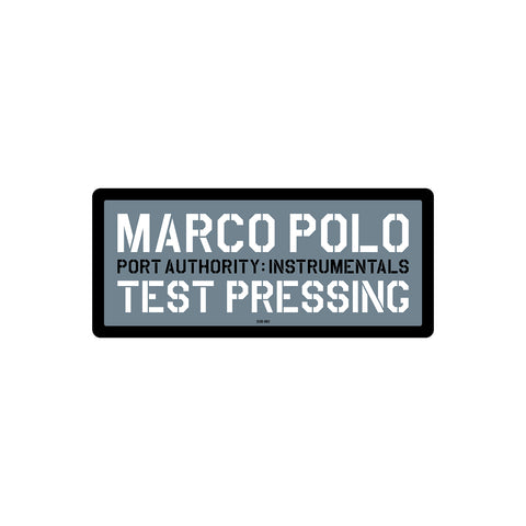 Marco Polo - PA1 Instrumentals - x2LP (Test Pressing)
