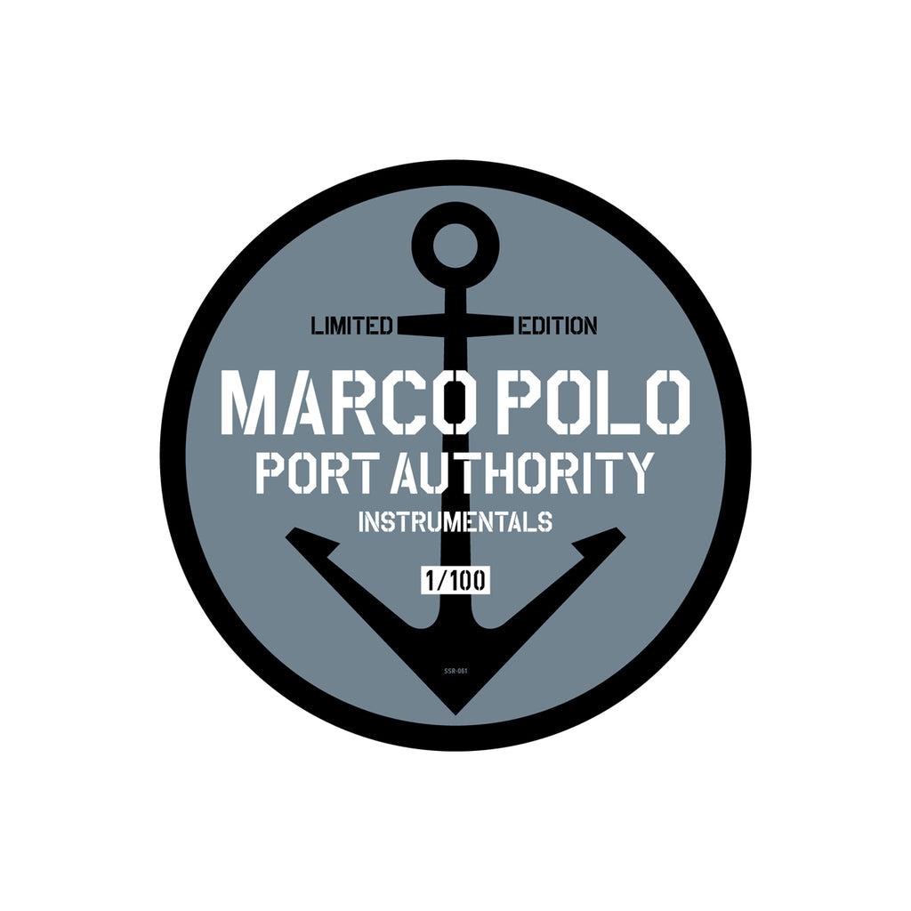 Marco Polo - PA1 Instrumentals - Boutique Ink Stamped Press x2LP (180g)