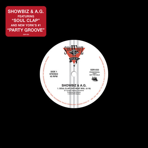 Showbiz & A.G. - Soul Clap/Party Groove Alt. Mixes - Bonus 45 (Black)