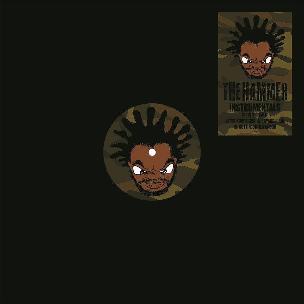 Jeru The Damaja - Hammer Instrumentals - Special Edition Color Vinyl