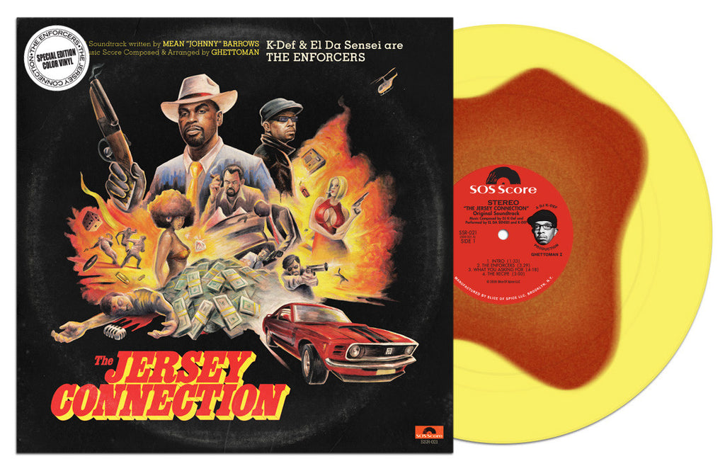 The Enforcers - The Jersey Connection - Special Edition Color Vinyl