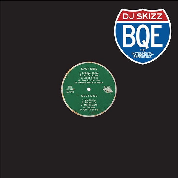 DJ Skizz - BQE: The Brooklyn-Queen Experience Instrumentals - LP (Black)