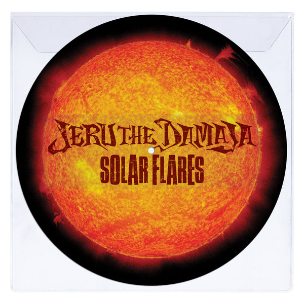 Jeru The Damaja - Solar Flares - Limited Edition Picture Disc