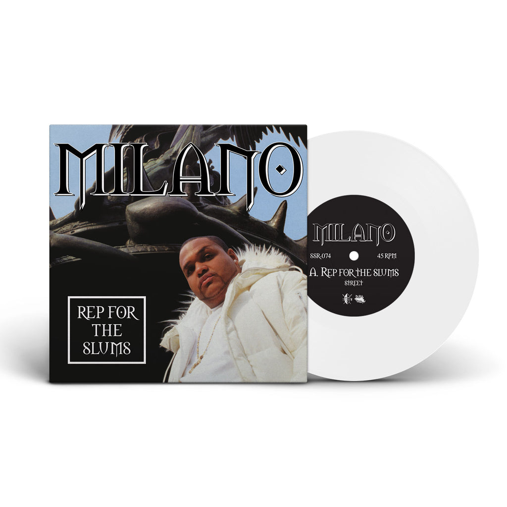 Milano - Rep For The Slums / My Niggaz - 45 (Special Edition White)