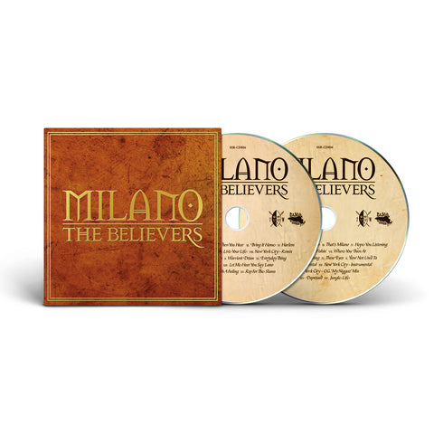Milano - The Believers: Deluxe Edition - x2CD (Foil Printed Gatefold Double Disc)