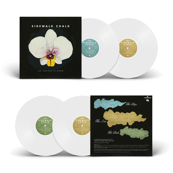 Sidewalk Chalk - An Orchid Is Born - x2LP (White)