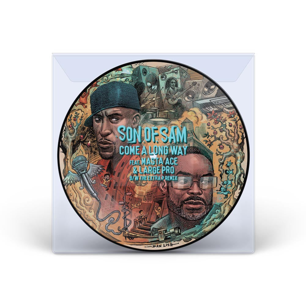 Son Of Sam ft. Masta Ace & Large Pro - Come A Long Way - 45 (Picture Disc)