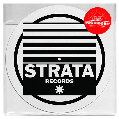 Strata Records - Limited Edition Slipmats - Set (x2 Mats)