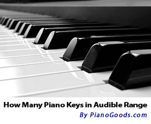 If a piano could play all the notes within audible range, how big would it be?