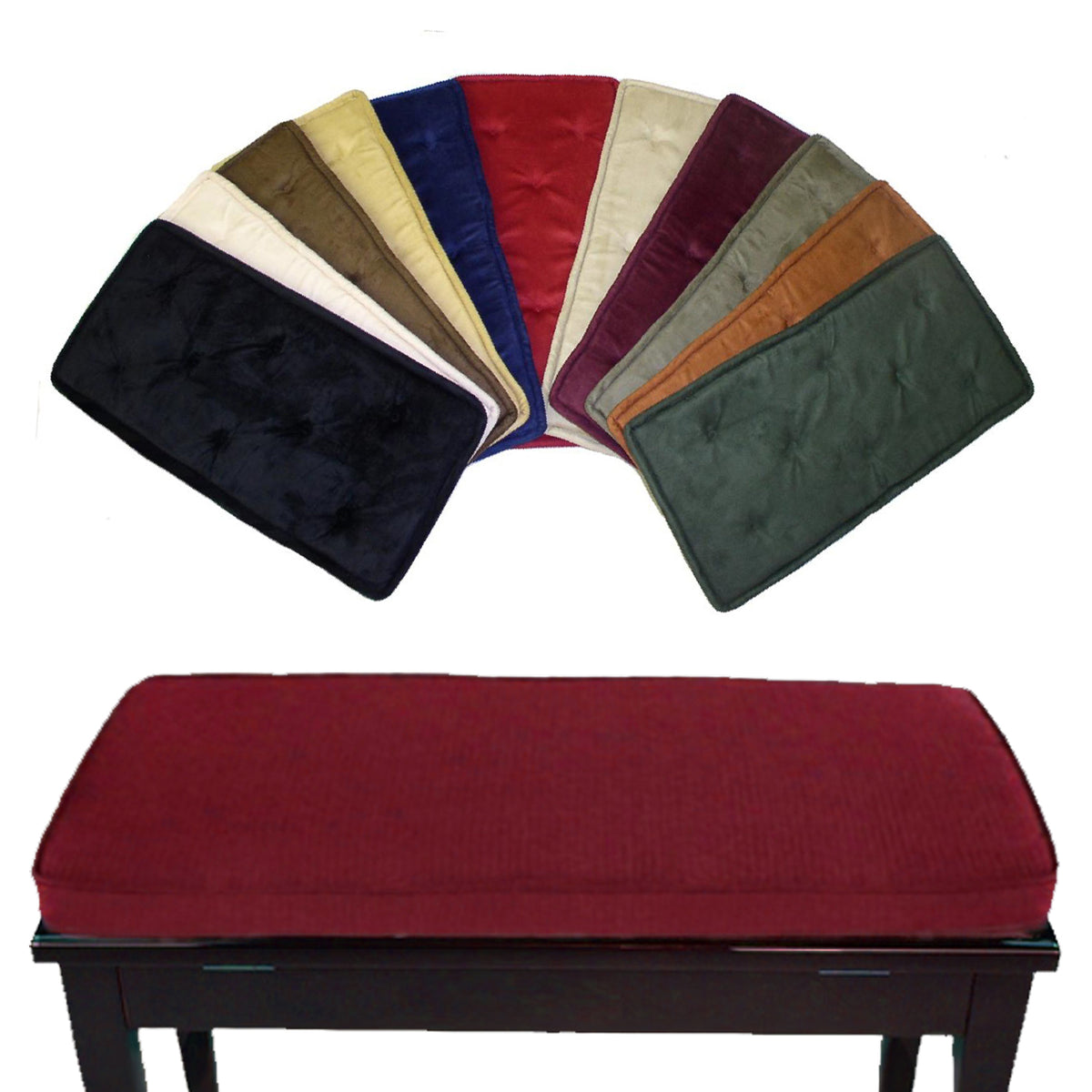 Purchase Velvet Bench Cushion Up To 72 Off