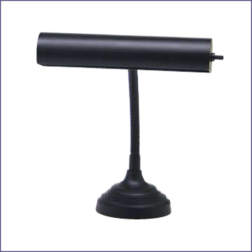 "Advent 10"" Black Piano/Desk Lamp"
