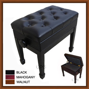 Adjustable Artist Piano Bench (B102)