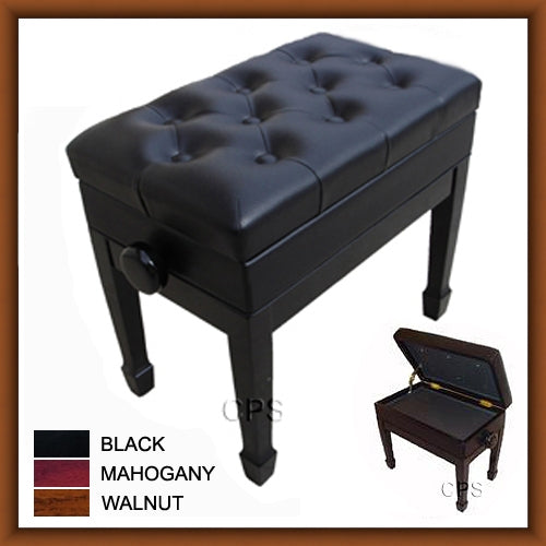 Adjustable Artist Leather Piano Bench (BL102)