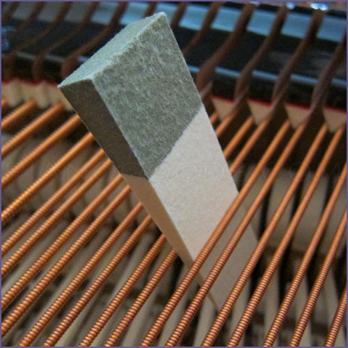 Felt Wedge Piano Tuning Mute - Large