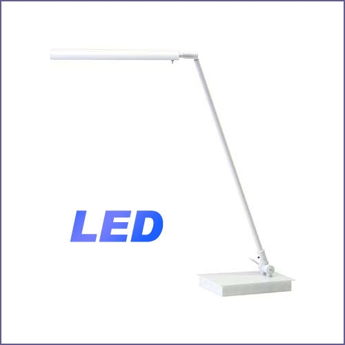 Generation Collection LED Piano Lamp - White