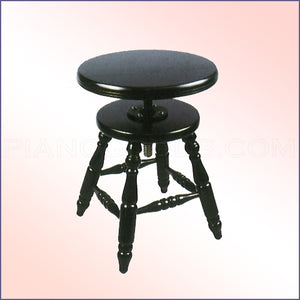 Jansen Wood Top Piano Stool - Adjustable (J-60)
