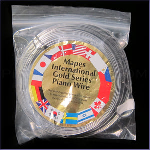Mapes International Gold Piano Wire - 1 lb. Coil