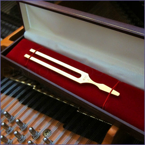 Gold-Plated John Walker Tuning Fork - A440