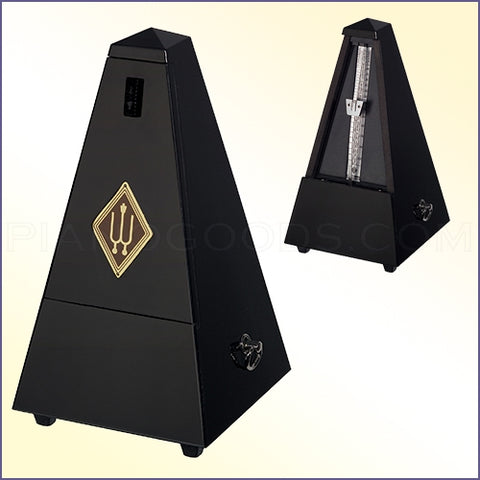 Wittner Wood Metronome - Gloss Black