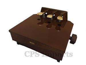 Pedal Extender - Walnut (brown)