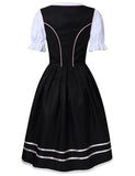 Glorystar Women's German Dirndl Dress 3 Pieces Oktoberfest Costumes