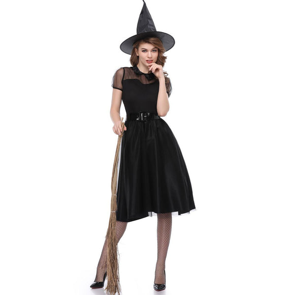 Halloween Women's Dress Witch Dress Festival Dresses Cosplay Costume Party Skirt