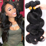 Unprocessed Bending Curly Hair1 Bundle Real Natural Black Silky Soft Human Hair Extension Headdress Hair Weaves
