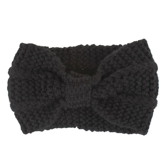 Women Winter Knitted Wide Stretch Hairband Hair Accessories