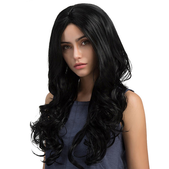 65cm Fashion Long Curls Synthetic Women Wig