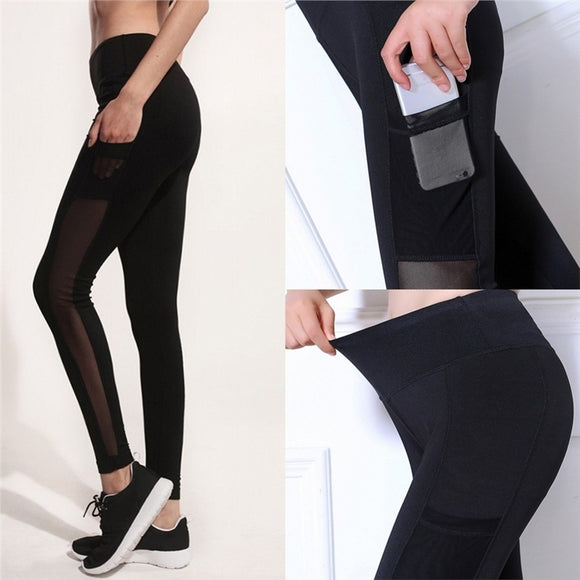 Women Fashionable Yoga Pants Stretchy Quick-Dry Gym Leggings Slim Fit