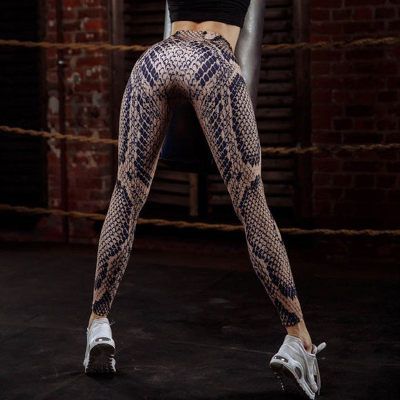Women Fashion Printing Yoga Leggings