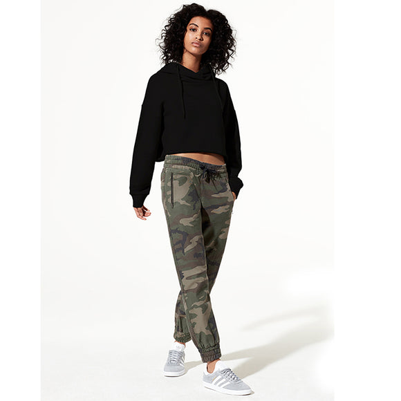 Women Fashion Camouflage Sports Slacks Casual Pants