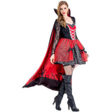 New Women Vampire Costumes Cosplay Gothic Vampire Outfit The Queen Vampire Role Play Clothing