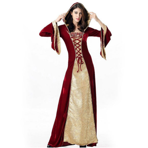 Halloween Carnival Court Costume Queen Dress Performance Show Costume Halloween Costumes for Women