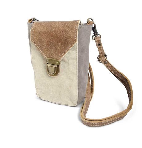 Cell Phone Bag - Weathered Canvas