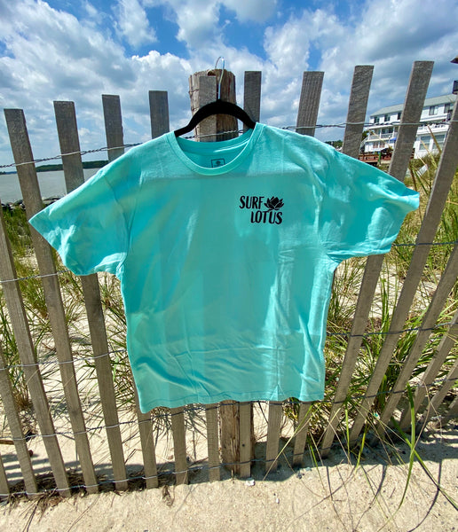 "Graphic Surf Lotus - ""T for a Cause"" - Waves Short Sleeve - Chill"