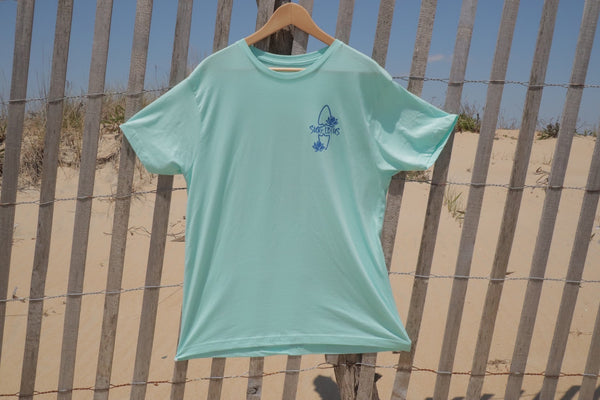 Graphic T - Surf Board Lotus T - Mint