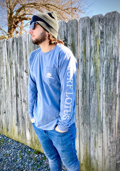 Graphic - Surfer Long Sleeve - Pocket and Sleeve Logo
