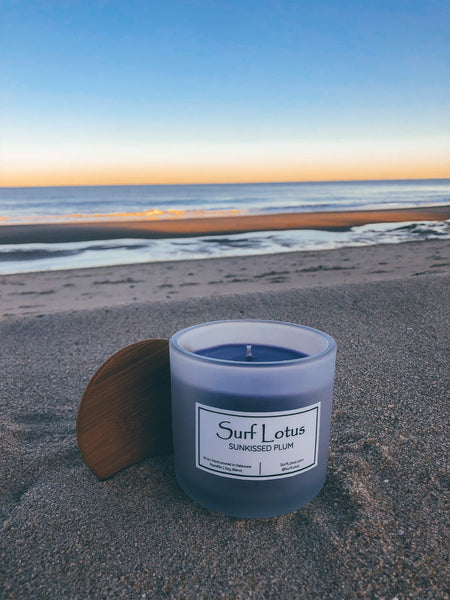 Sunkissed Plum 16oz Candle