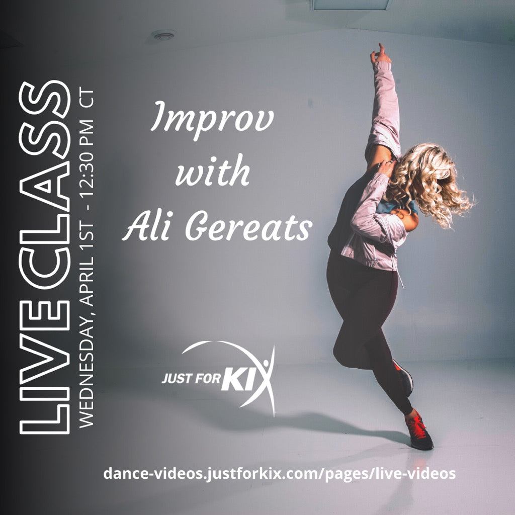 April 1st 12:30pm CST - Improv - Instructor: Ali