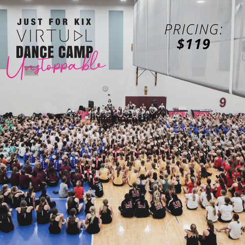 Just For Kix Virtual Dance Camp July 20-22, 2020