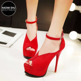 MANGATA Mary Jane Platform Stiletto