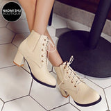 VIVRE Detachable Buckle Strap High Heel Bootie