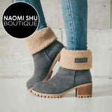 FERNAN Winter Plush Warm Women Boots