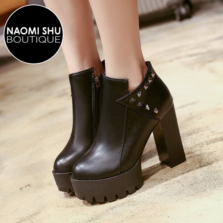 JOEESE High Heels Ankle Boots