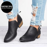 REECE Slip-On Ankle Boots