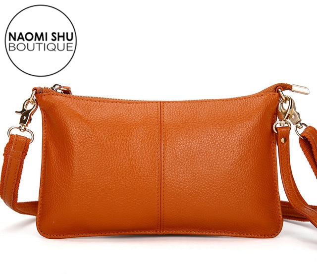 REESE Genuine Leather  Shoulder Bag