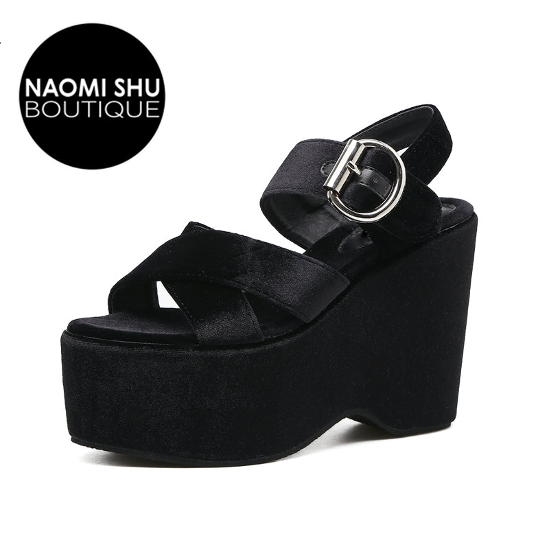 KAZIE  Sandals Platform Wedge