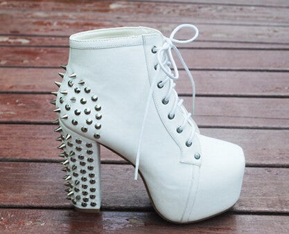 BAE Spikes Ankle Boots